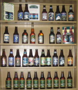 The Quidi Vidi Brewery Beer Wall