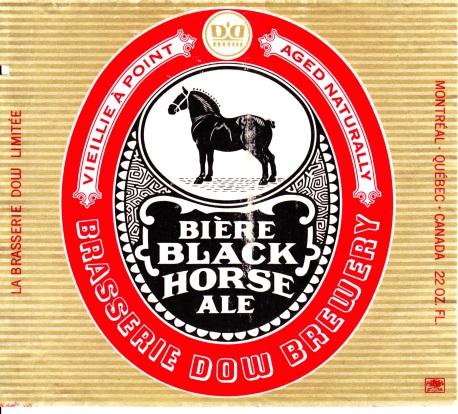 Black Horse Ale - 1969
