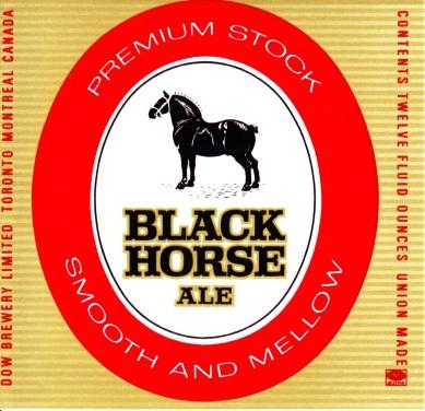 Black Horse Ale - 1972