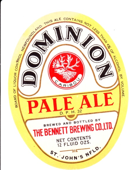Dominion Pale Ale - 1950