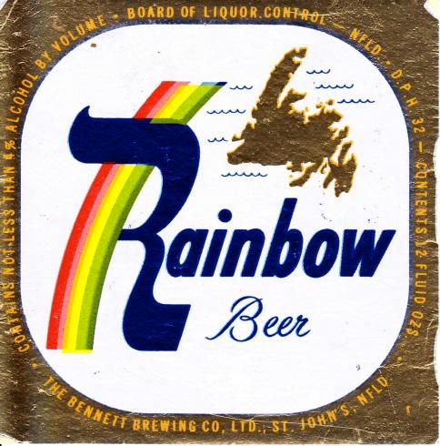 Rainbow Beer - 1956