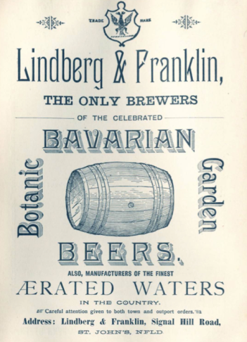 Bavarian Beers, Lindberg and Franklin