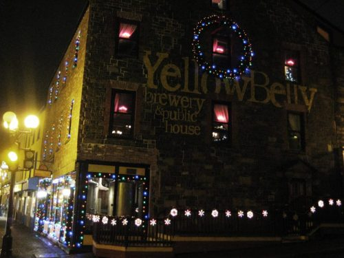 Yellowbelly at Christmas - Photo Credit to Joyce Conway