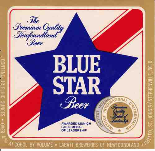 Blue Star, over 4%