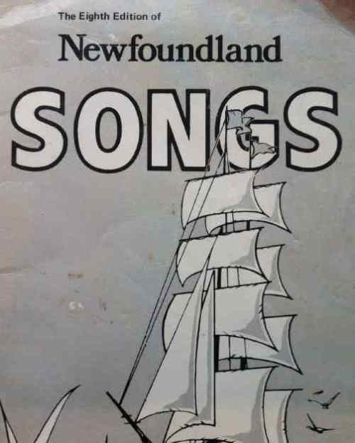 Cover of the Eighth Edition of Newfoundland Songs