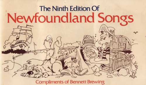 Cover of Newfoundland Songs (9th Edition).